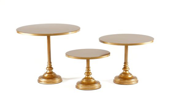 Gold Simple Cake Stand