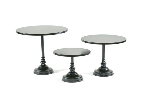 Black  Simple Cake Stand