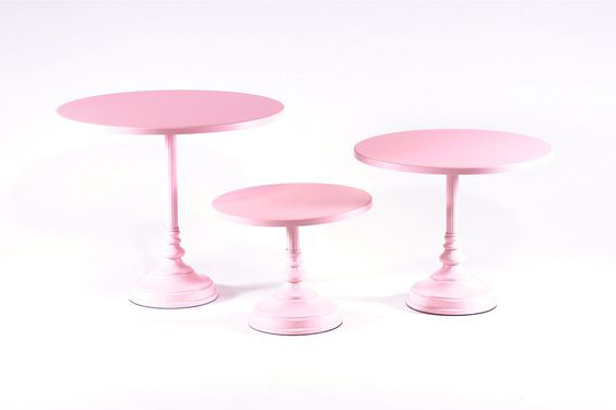 Pink  Simple Cake Stand