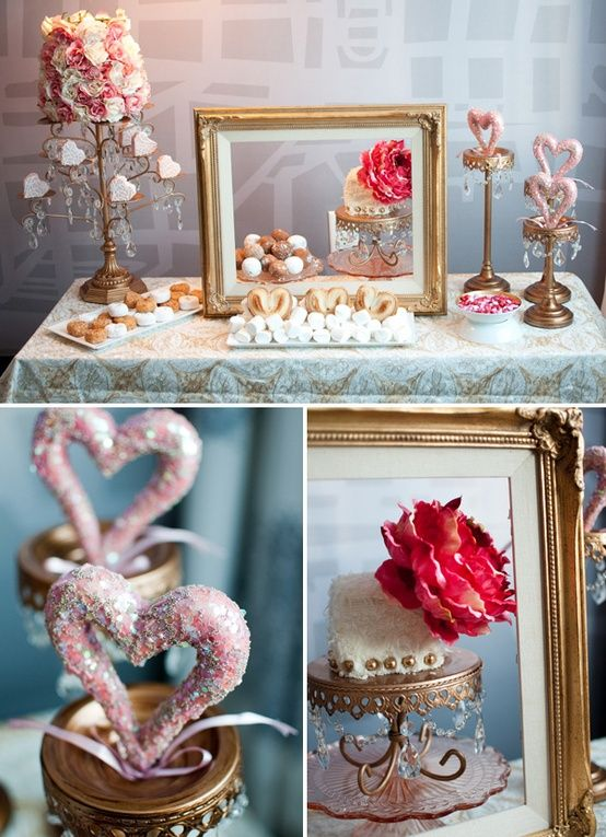valentines dessert table- opulent treasures gold loopy cake plate.jpg