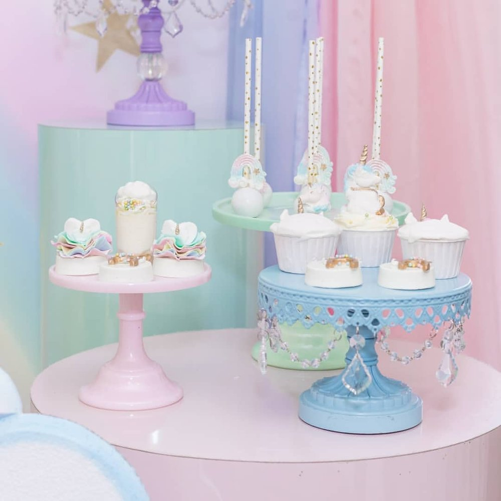 baby blue cake stand created by Opulent Treasures.jpg