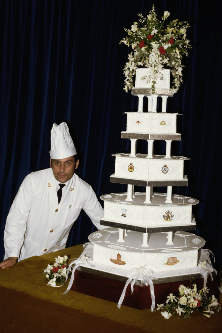 Princess Diana's Wedding Cake