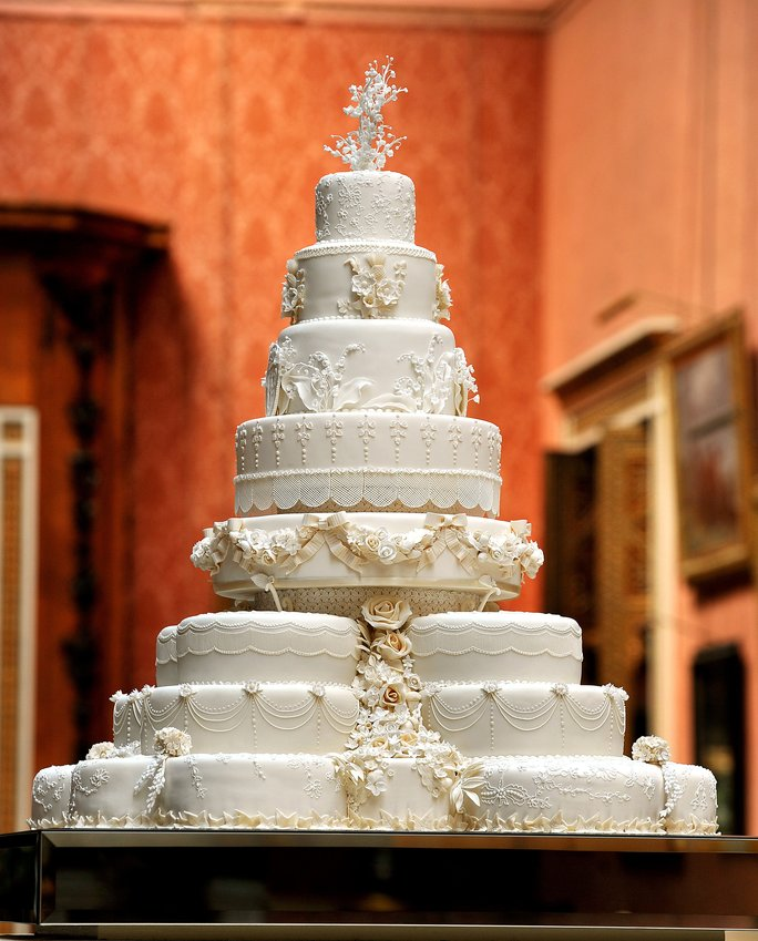 Princess Kate's Wedding Cake