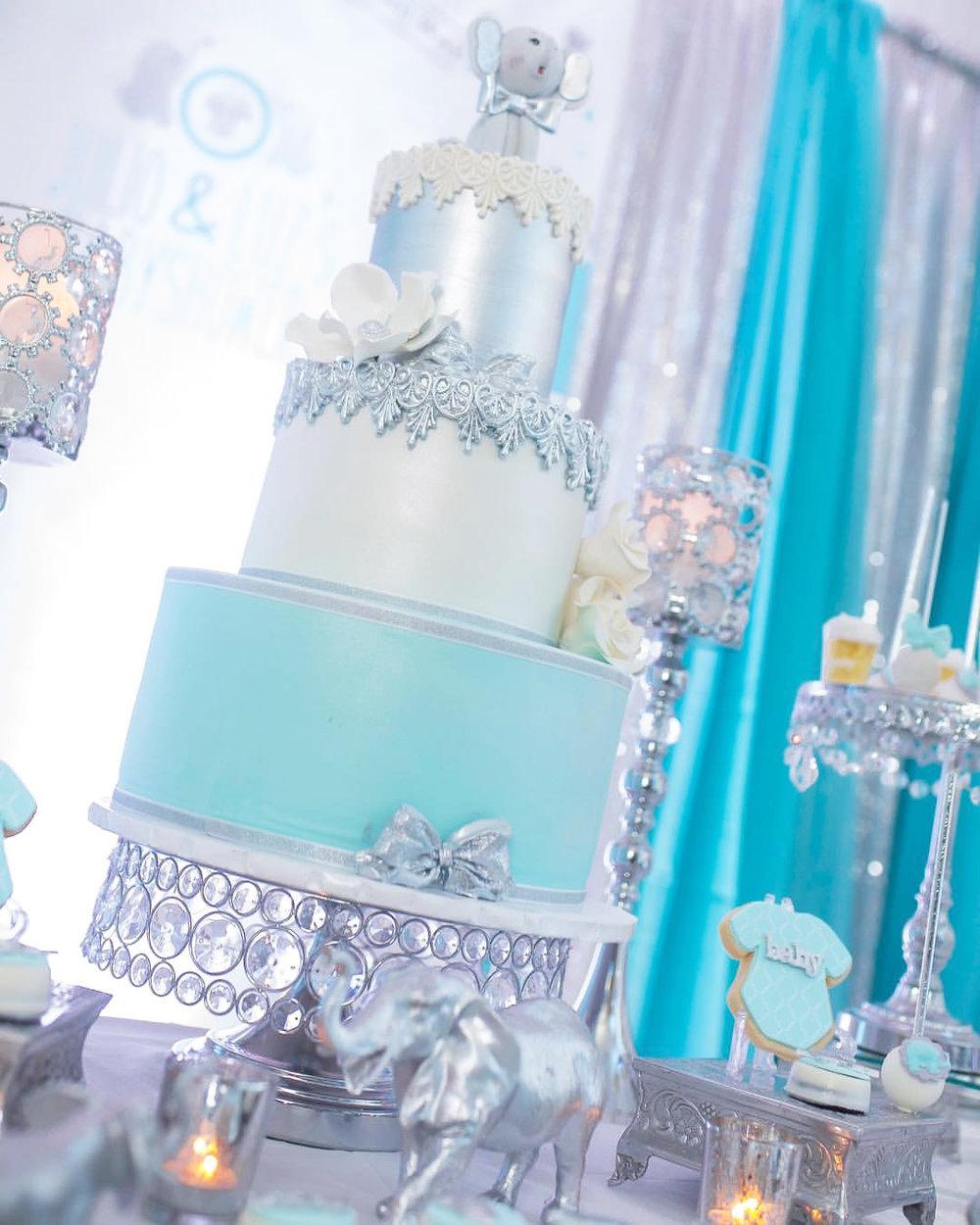 shiny silver bling cake stand opulent treasures.jpg