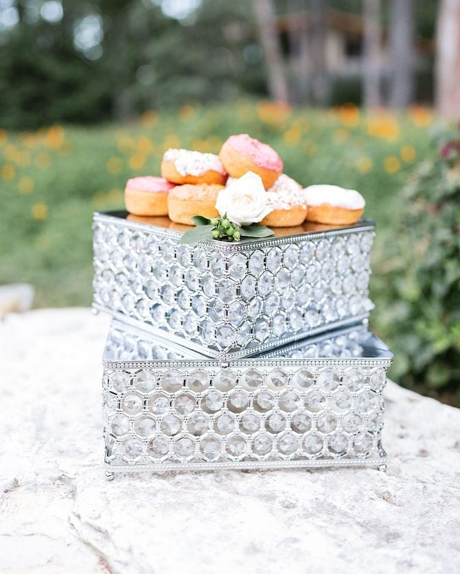 SHINY SILVER BLING MOROCCAN SQUARE CAKE STAND SET .jpg