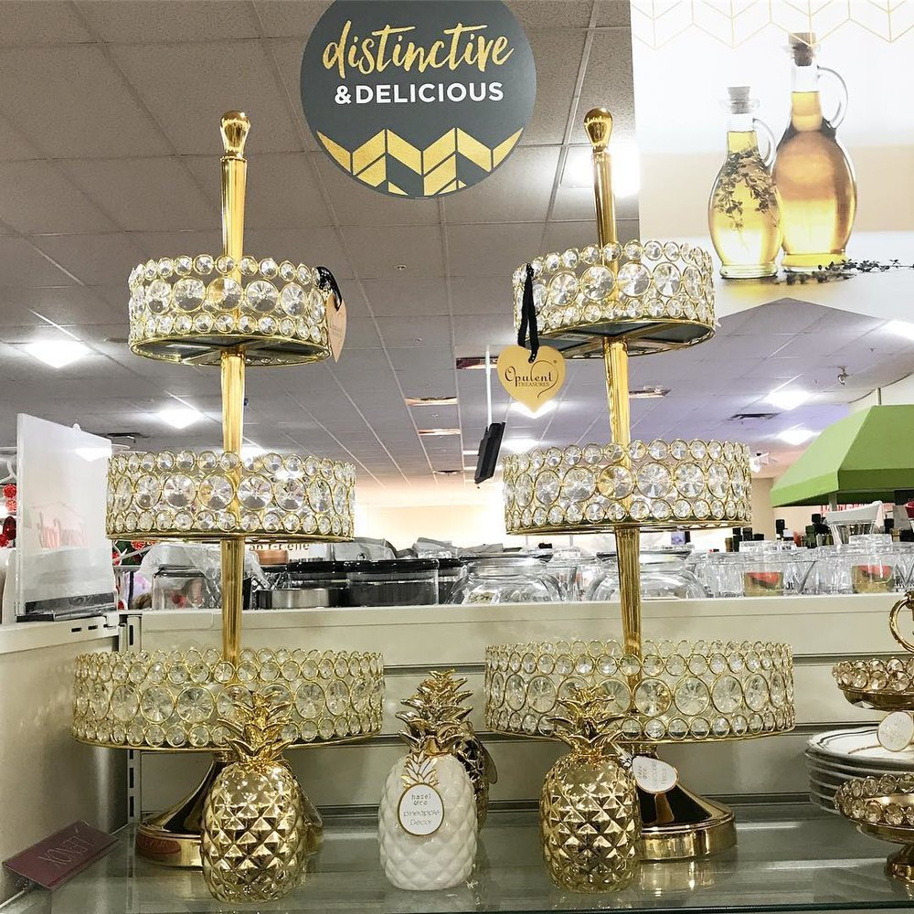 Bling Tiered Dessert Stands Home Goods Opulent Treasures.jpg