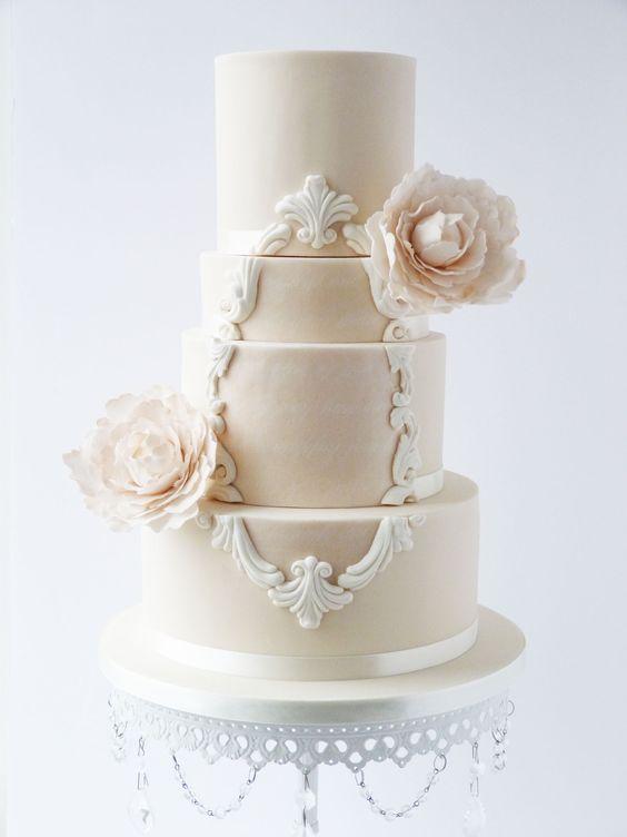 cake  Suzanne Esper Cakes  • cake stand  Opulent Treasures