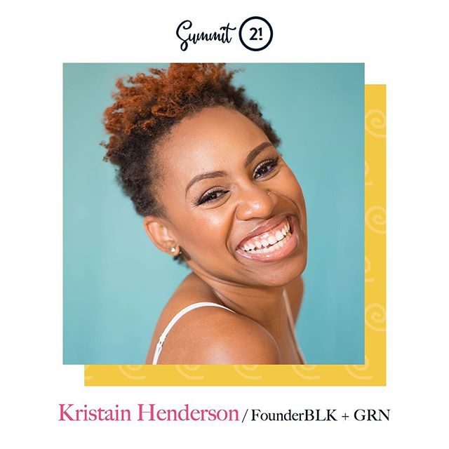 Are you in Atlanta? Going to be in town for Summit 21? Come and join me and @blkandgrn for the first stop of our BLK Oasis self-care tour. Use code DRKRISTIANH for $10 off before midnight tonight!