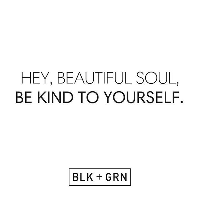 Saturday reminders from @blkandgrn.