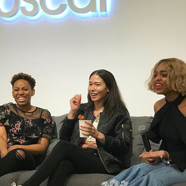 That time I sat on a panel with @sheneilmjohnson of @basebutter... When I tell you Black women entrepreneurs are taking over. #girlboss #buyblacklivegreen #blkandgrn