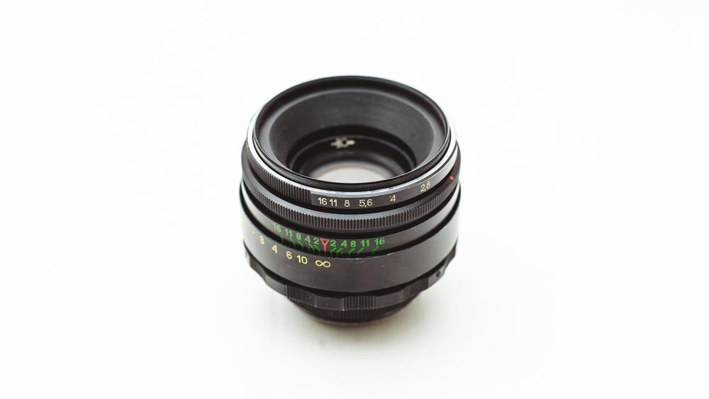Helios FF-2 58mm f/2