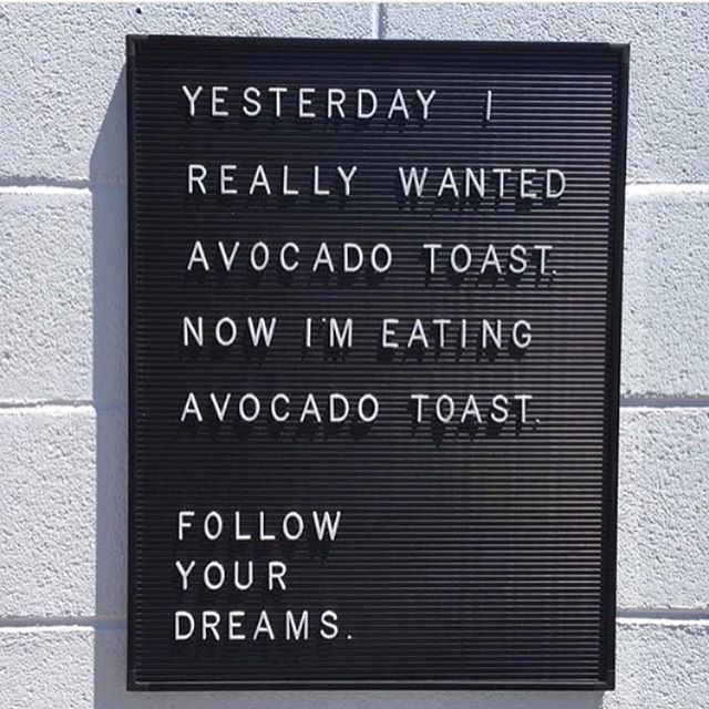 Our #AvocadoToast is the thing of dreams #DreamBig 📷 by @avocadosmagazine #Avocado #MuseumDistrict #HoustonBreakfast #BreakfastAllDay