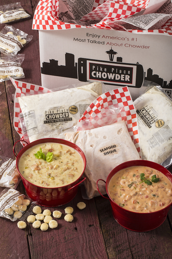 SAVE 10% when you purchase 8 quarts! Use discount code: 8CHOWDER