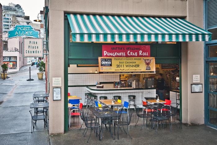 PIKE PLACE MARKET MENU - 1530 Post Alley Seattle, WA 98104