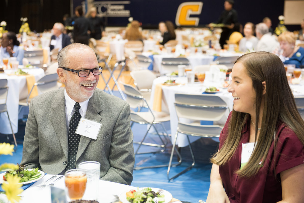 Scholarship Luncheon 2018 - Third Annual Scholarship Luncheon Celebrates Academic Excellence, Philanthropy