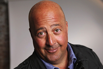 ANDREW ZIMMERN - of the TRAVEL CHANNEL'S BIZARRE FOODS