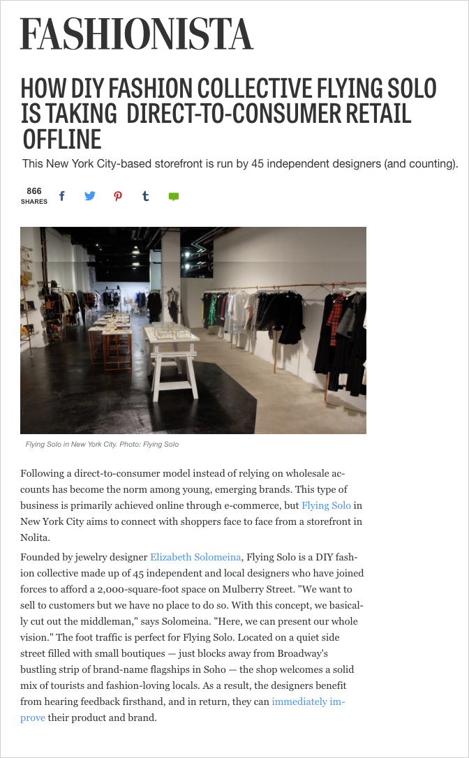 HOW DIY FASHION COLLECTIVE FLYING SOLO IS TAKING DIRECT-TO-CONSUMER RETAIL OFFLINE fashionista.jpeg