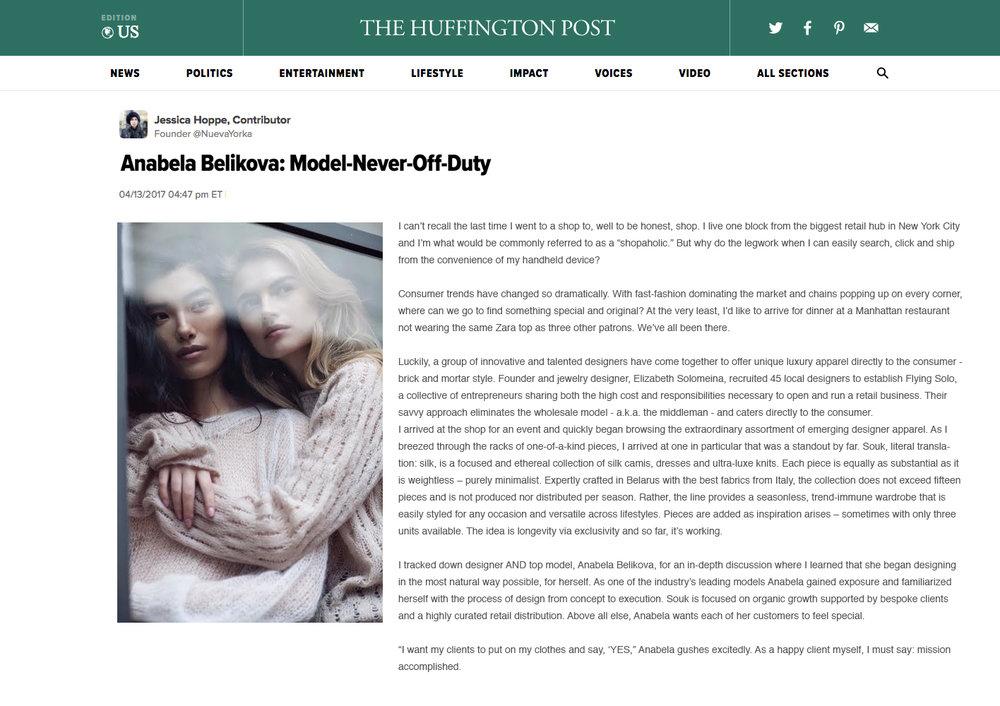 Huffington Post Anabella Belikova