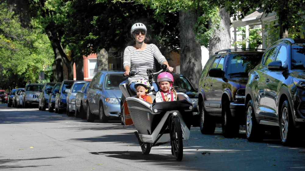 Chicago Tribune,  Cargo bikes can do the job of a minivan  by Nara Schoenberg