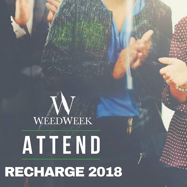 ATTEND  WeedWeek's RECHARGE 2018 is an event with a carefully curated guest list to foster active discussion, productive networking and valuable interactions.  We will get to capacity quickly. Request an invite through the link below.  September 26, Los Angeles  https://www.weedweek.net/invite-requests