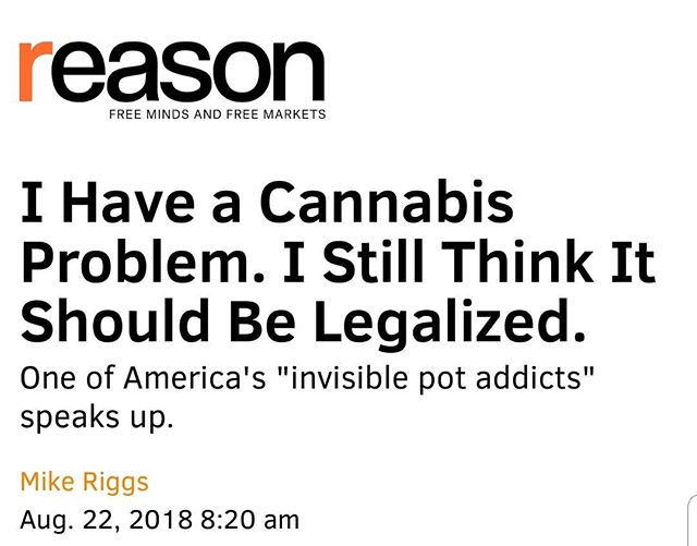 An interesting piece in Reason  #legalizeit #marijuana #cannabusiness #cannabiz #420 #420girls #letssmoke