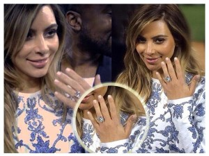 Kim Kardashin Engagement Ring