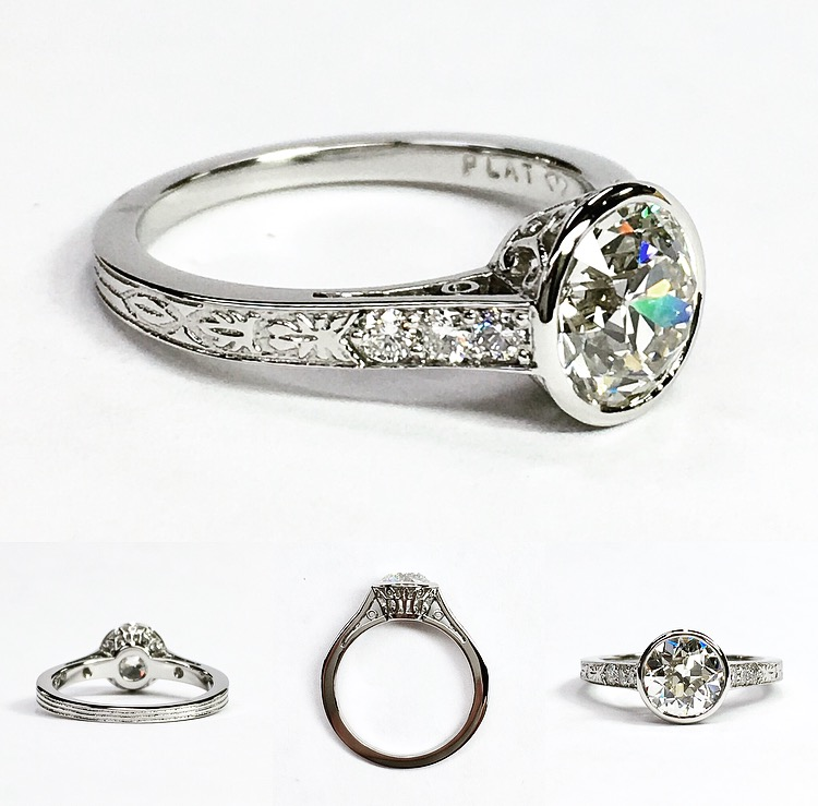 211223a85 Four Grooms-To-Be All Want One Coveted Vintage Ring, Malka Diamonds  Delivers!