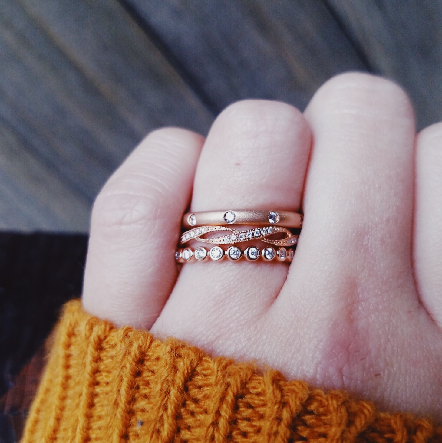 A Portlander S Guide To Stacked Rings