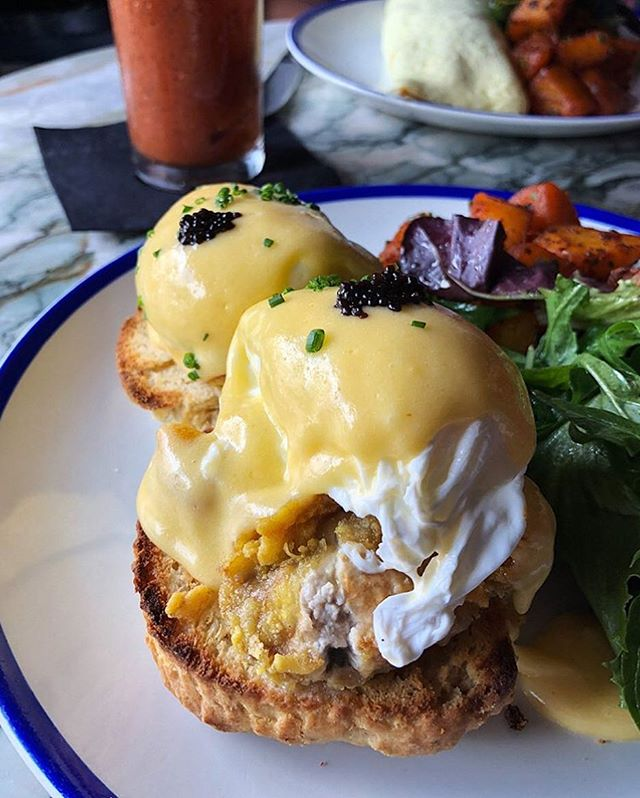 Oyster Benedicts and Bloody Marys happening today 📷: @certifiednosh