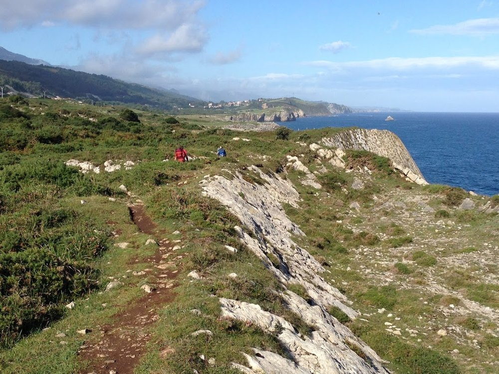 "Following some ""peregrinos"" on the Camino del Norte route of the pilgrimage, which runs along the northern coast of Spain."