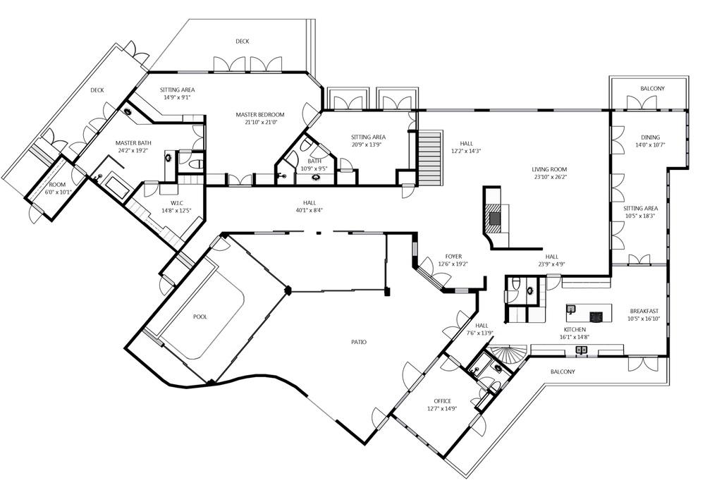 First Floor Main House