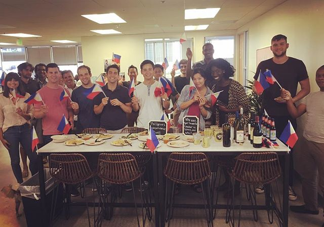 Great time celebrating the Philippines' Independence Day yesterday in Santa Monica in support of our team in Manila! #TeamTala #GrowTogether