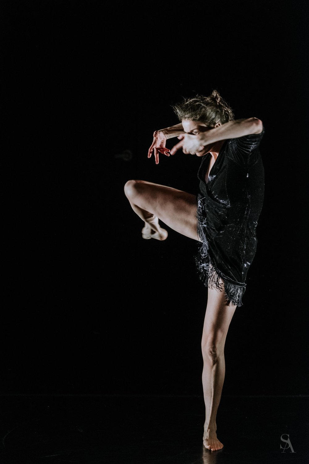 The Solo(s) Project : performer - Corrie Befort; photo by Stefano Altamura