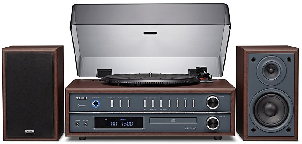 TEAC LP-P1000 All-in-one vinyl record player with bluetooth