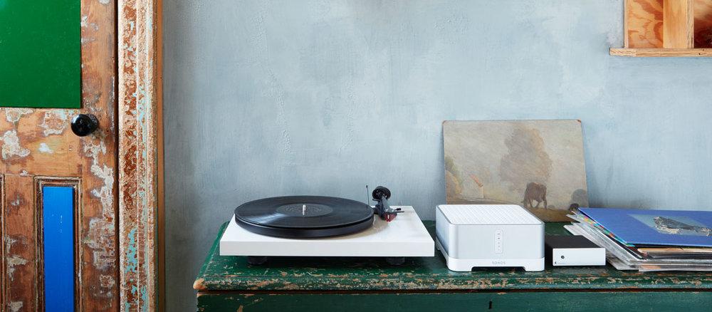 Sonos Record Player Setup CONNECT AMP