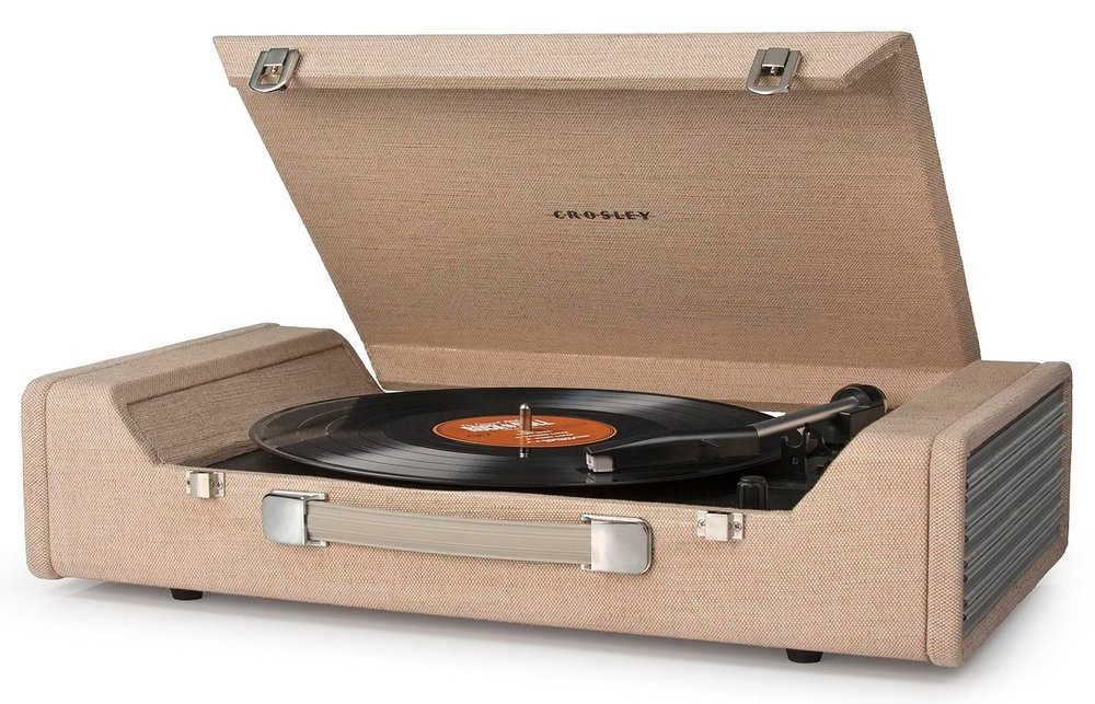 crosley nomad Best all in one turntable record player