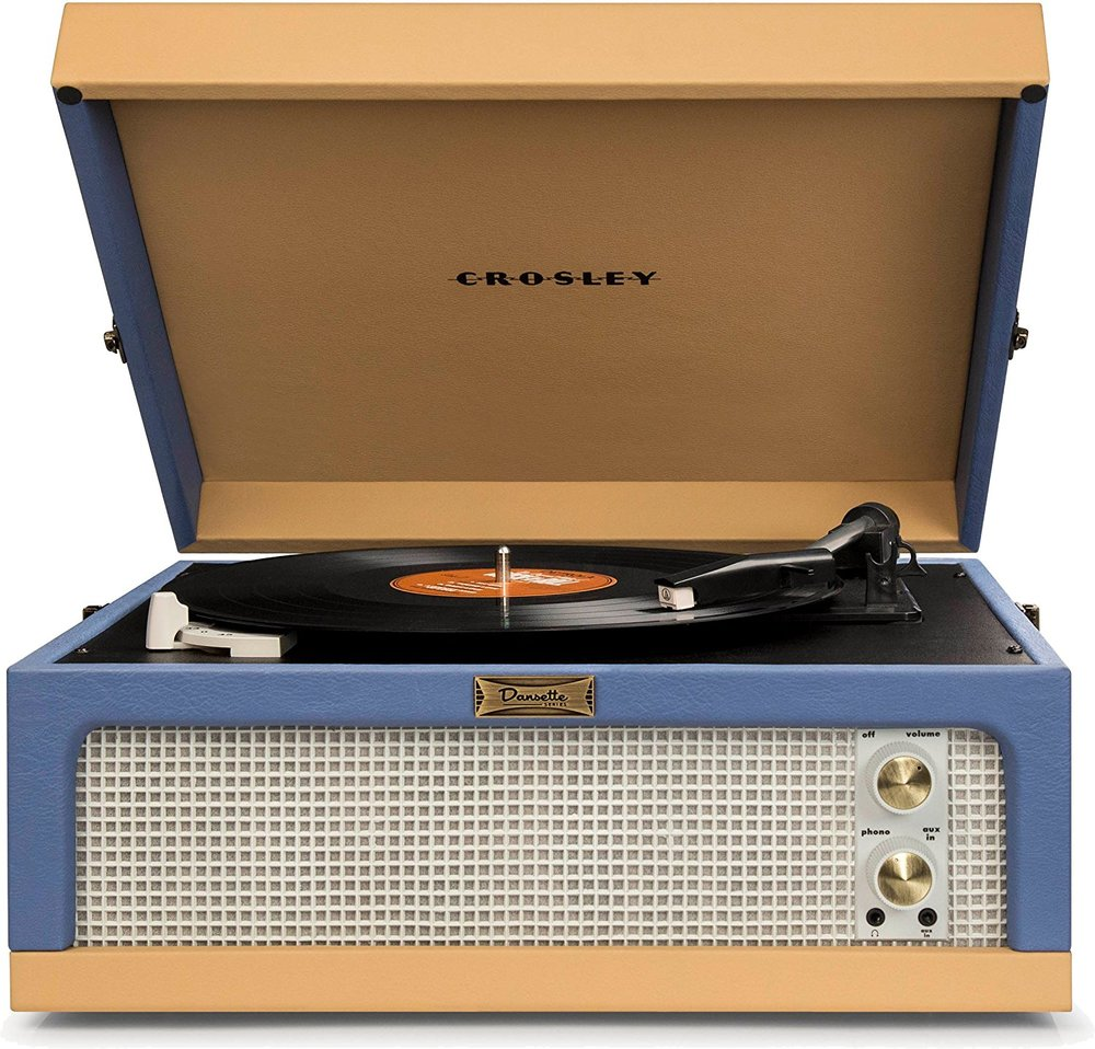 Crosley Dansette Junior Portable turntable Best Turntable under $200