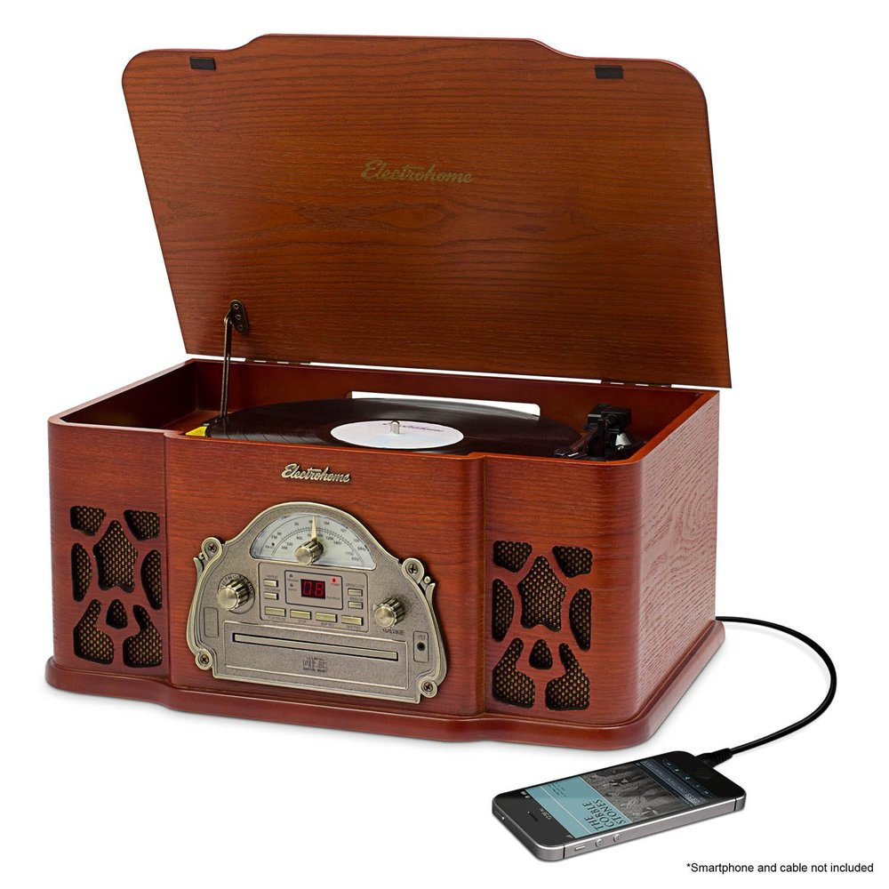 Electrohome Winston Vinyl Record Player The Best Vintage Turntables and Record Players.jpg
