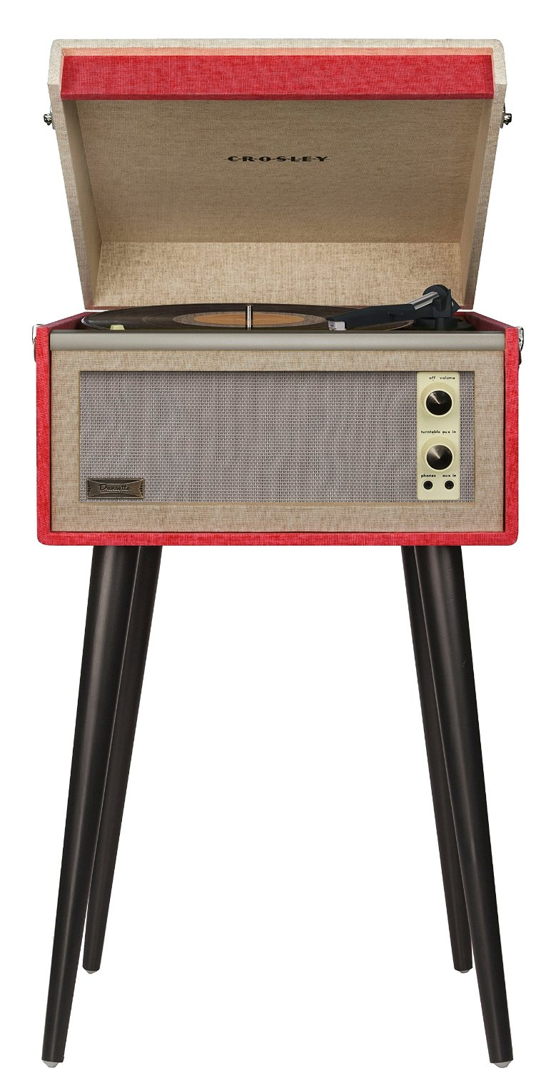 Crosley Dansette Bermuda Portable Turntable best vintage turntable