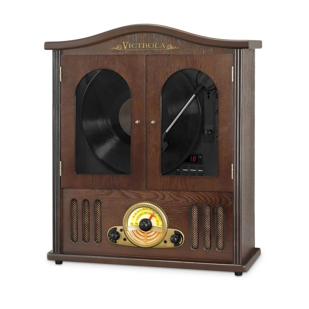 Victrola Wood Wall Mount Turntable Best Vintage Turntable