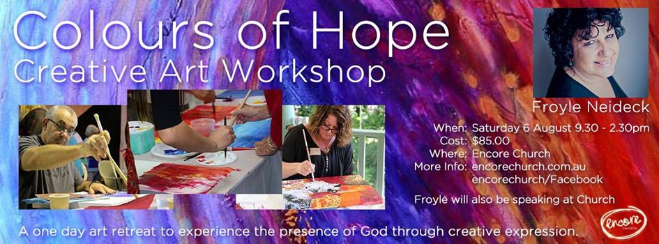 Encore Church - Colours of Hope workshop