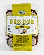 New World Foods Raw Hemp Bliss Balls