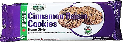 New World Foods Organic Cinnamon Raisin Cookies