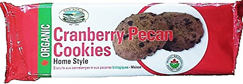 New World Foods Organic Cranberry Pecan Cookies