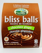 Chocolate Ginger Bliss Balls
