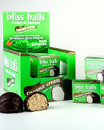 Coconut Cream Bliss Balls