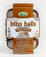 Raw Virgin Coconut Bliss Balls