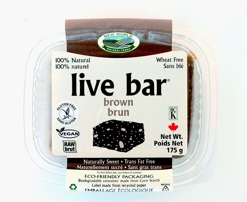 Organic Brown Live Bars