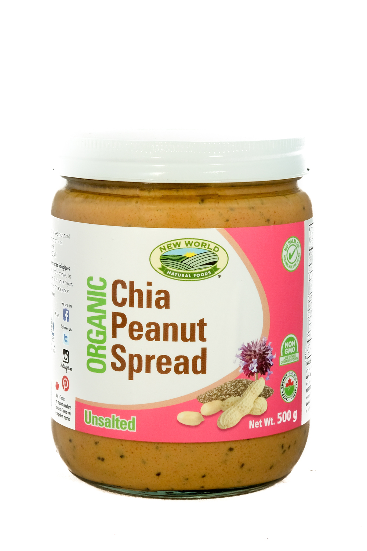 Organic Chia Peanut Butter