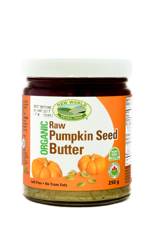 Organic Raw Pumpkin Seed Butter